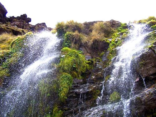 Soda Springs Waterfall -...