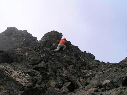 Mary gaining ridge line