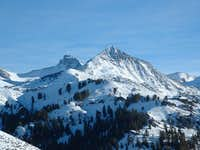 Cobb Peak from the slopes of...