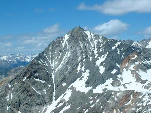 Cobb Peak\'s east face. June...