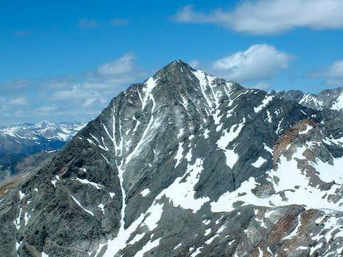 Cobb Peak's east face. June...