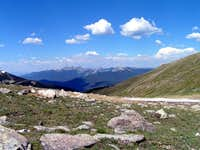 Photo taken from the ridge...