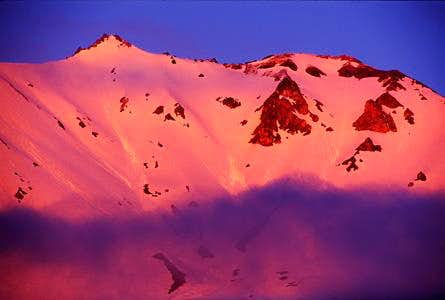 Mt. Lassen Alpenglow from...