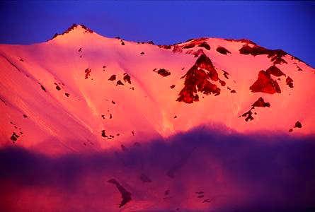Mt. Lassen Alpenglow from...