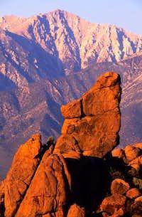 Montgomery Peak From the...