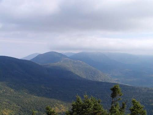 From Mt Jackson looking north...