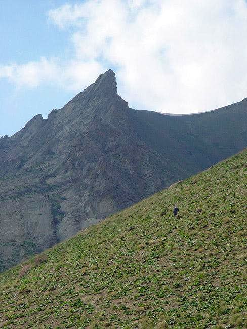 Summer 2004 - An unknown peak...