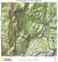 Table Mountain Route TOPO