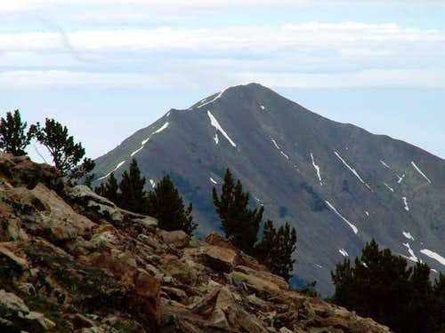 Grays Peak from the west...