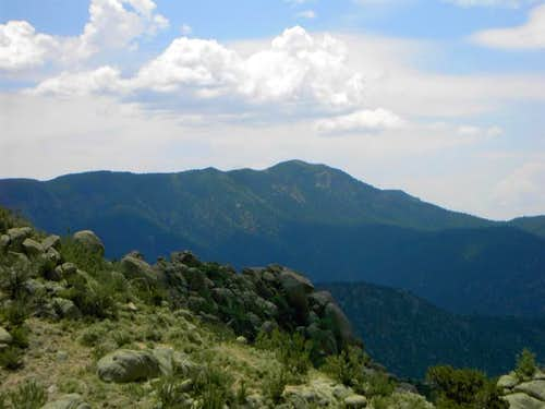 South Sandia Peak from the...