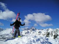 summit with triglav in...
