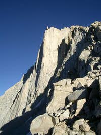 View from descent gully