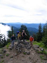 Summit photo from Devils Peak