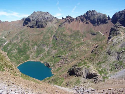 Escarra (2760m) and Ibón de...