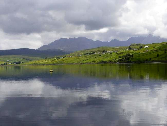 Black Cuillins from the inner...
