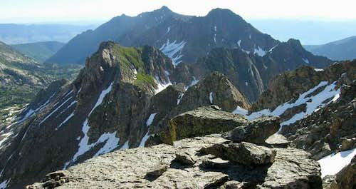 The Gore Range-with Peak W...
