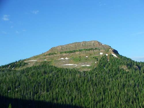 Pyramid Peak from the trail...