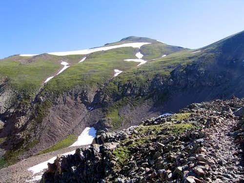 Handies Peak from the...