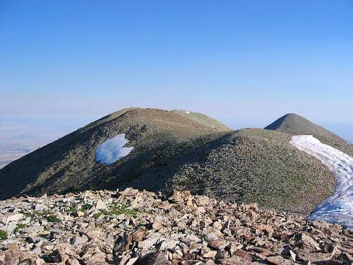 Looking toward the summit of...