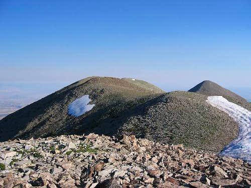 Looking toward the summit of...