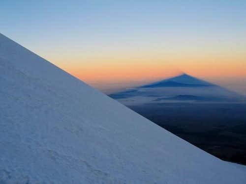Sunrise on Orizaba, November...