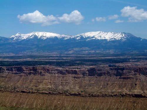 Mount Ellen seen from the top...