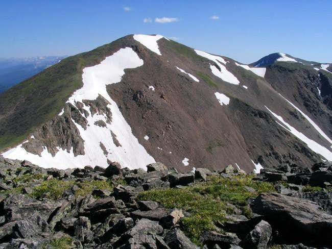 From the summit of Mount Eva,...