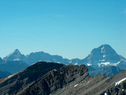 Mts. Assiniboine and Eon from...