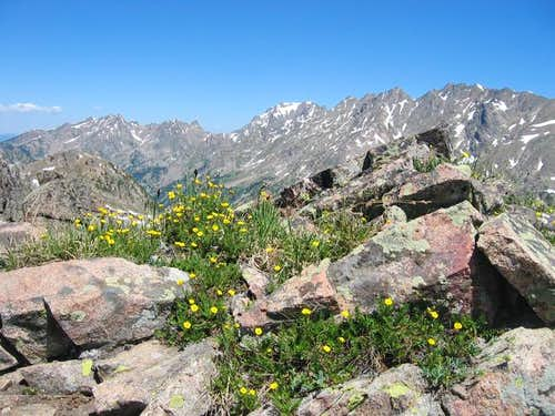 The Gore Range . July 13,...
