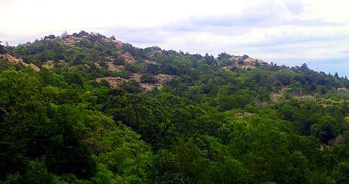 Phantom Mountain as seen from...