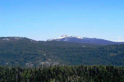 Mokelumne Peak from Hwy 88....