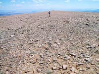 the flat top of bross,...