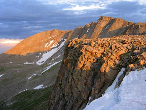 Mount Evans at Sunset