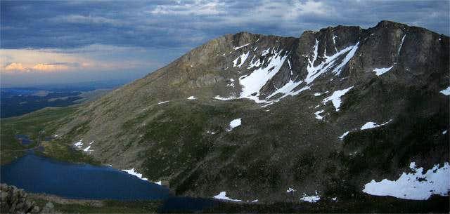 Mount Evans and Summit Lake...