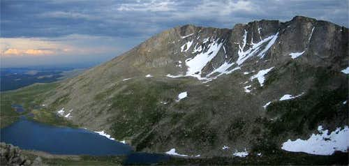 Mount Evans and Summit Lake...