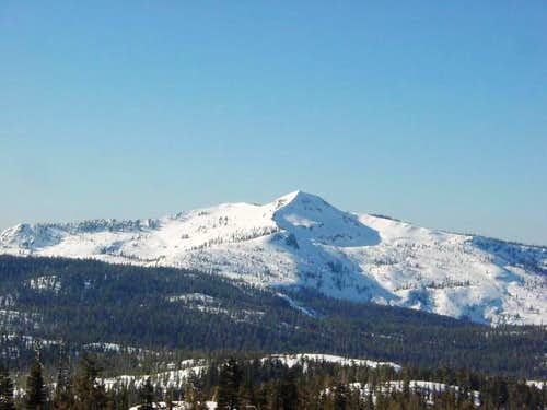 Mokelumne Peak in it\'s winter...