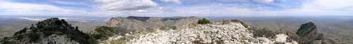 360 degree image from the top...