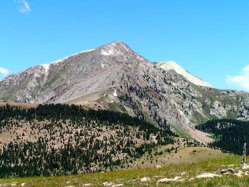 Truchas Peak photo taken from...