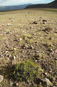 Plateau above Tuti village