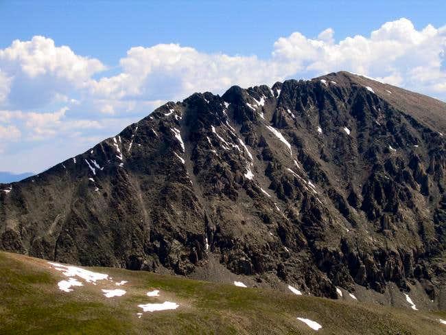 The West Ridge of Quandary...