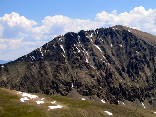 The West Ridge of Quandary...