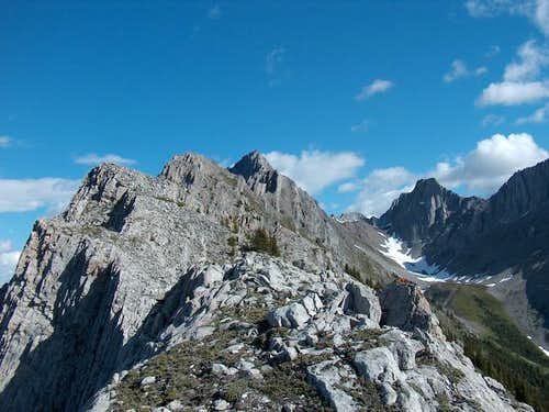 The South Ridge Ascent of...