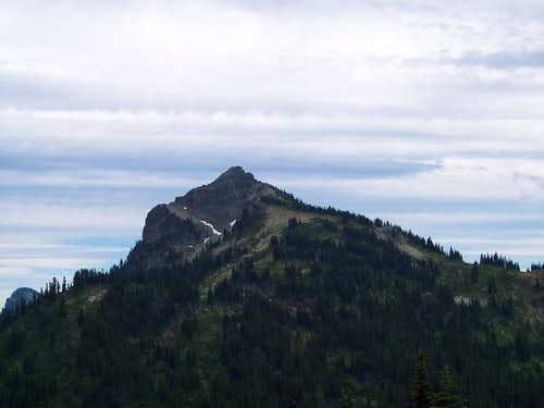 Dewey Peak as seen from the PCT