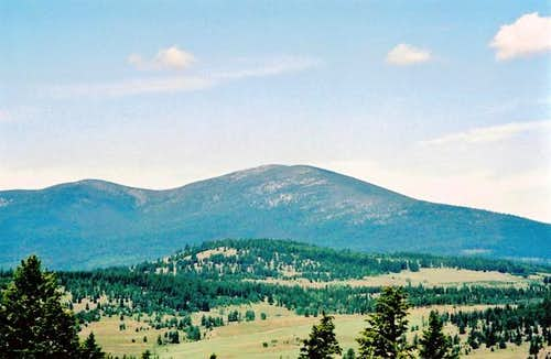 The monadnock Mt Bonaparte;...