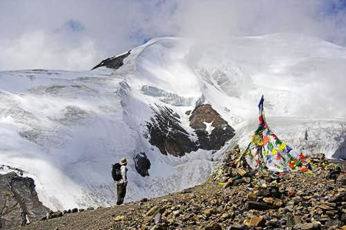 Thorung Ri seen from the...
