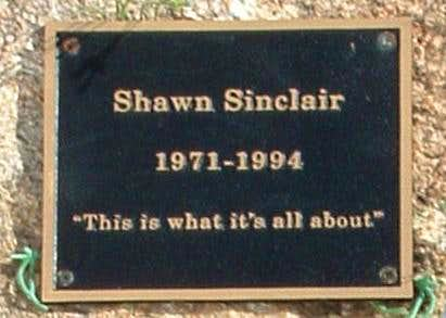 Sinclair Coulior Plaque