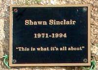 Sinclair Coulior Plaque