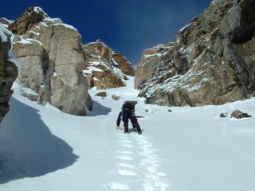 Starting Coulior Route
