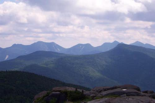 A view south from the summit...