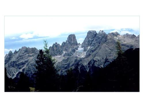 The Cristallo glacier from...